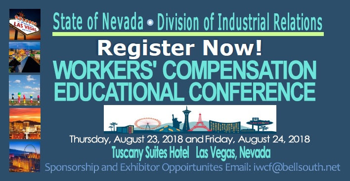 Register Now Workers' Compensation Educational Conference 2018